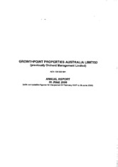 Growthpoint Properties Australia Ltd