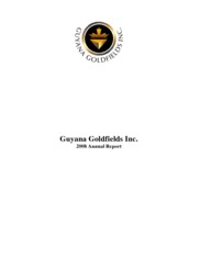 Guyana Goldfields Inc.