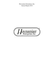 Hovnanian Enterprises, Inc.