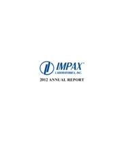 Impax Laboratories, Inc.