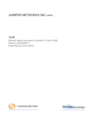 Juniper Networks Inc.