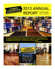 Lumber Liquidators Holdings, Inc.
