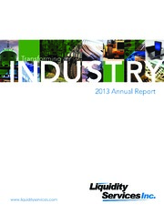 Liquidity Services, Inc. - AnnualReports.com
