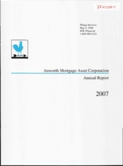 Anworth Mortgage Asset Corporation