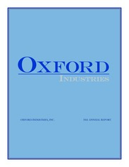 Oxford Industries