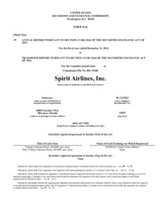 Spirit Airlines, Inc.