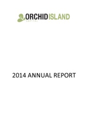 Orchid Island Capital Inc