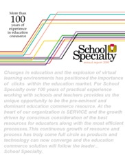 School Specialty Inc.