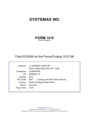 Systemax Inc.