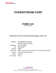 TowerStream Corporation