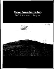 Union Bankshares, Inc