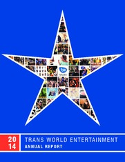 Trans World Entertainment Corporation