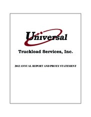 Universal Truckload Services, Inc.