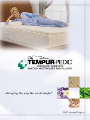 Tempur Pedic International Inc.