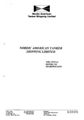 Nordic American Tankers Limited