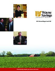 Wayne Savings Bancshares