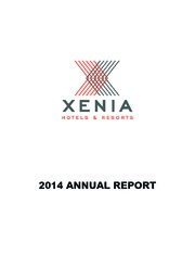 Xenia Hotels & Resorts Inc