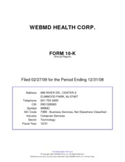 WebMD Health Corp