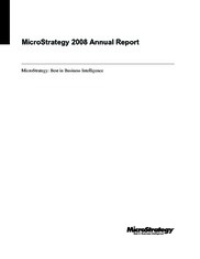 MicroStrategy Incorporated