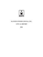 Manitex International, Inc.