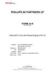 Phillips 66 Partners LP