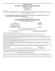 Calithera Biosciences Inc