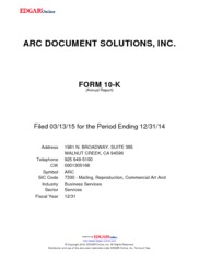 ARC Document Solutions Inc