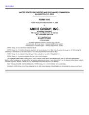 ARRIS Group, Inc.