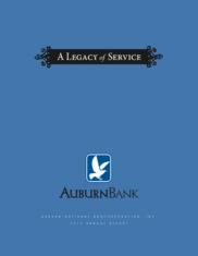 Auburn National Bancorporation, Inc.
