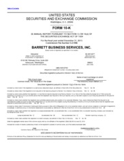 Barrett Business Services Inc.