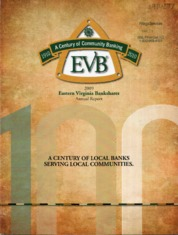 Eastern Virginia Bankshares Inc.