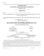 Blackhawk Network Holdings Inc