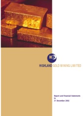 Highland Gold Mining Ltd.