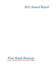 First South Bancorp