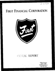 First Financial Corp