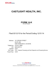 Castlight Health Inc