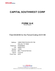 Capital Southwest Corporation