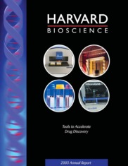 Harvard Bioscience Inc.