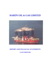 Hardy Oil & Gas PLC