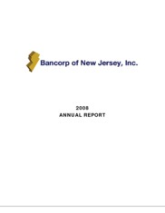 Bancorp Of New Jersey, Inc.