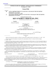 Key Energy Services Inc.