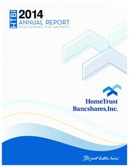 Hometrust Bancshares Inc