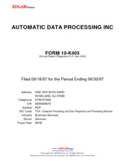 Automatic Data Processing Inc.