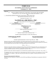National Oilwell Varco, Inc.
