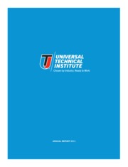 Universal Technical Institute, Inc.