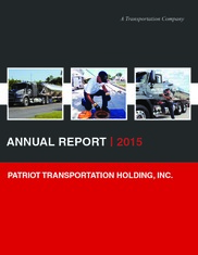 Patriot Transportation Holding, Inc.