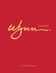 Wynn Resorts Ltd