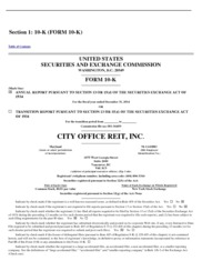 City Office Reit