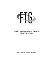 Firan Technology Group Corp.
