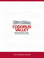 Codorus Valley Bancorp